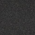 Mustan harmaa, pienikiteinen graniitti. Yleisvaikutelma on tasavärinen musta. Tummuusaste vaihtelee. Satunnaisesti isompia rakeita ja raesaostumia. Louhintapaikka Etelä-Afrikka.