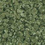 Syvän tumman vihreässä graniitissa on ominaispiirteenä mustia pieniä läiskiä. Lisäksi 30-50 mm kokoisia pallokuvioita satunnaisesti. Kivi on karkearakeinen ja suuntautumaton. Louhintapaikka Suomi.