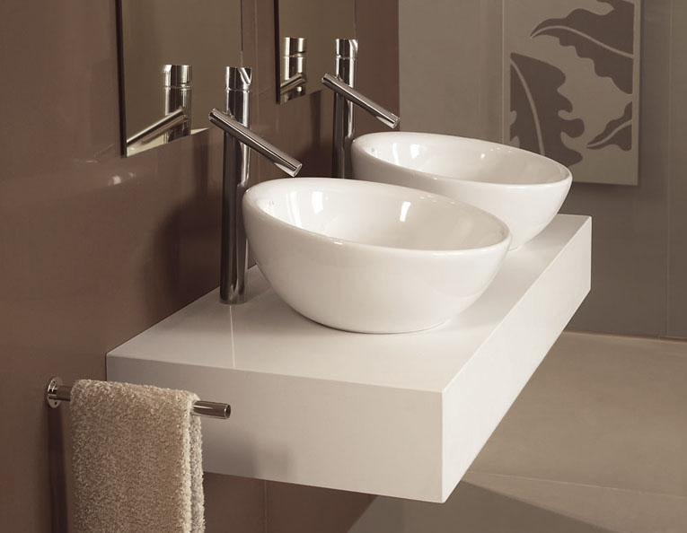 Silestone bath collection